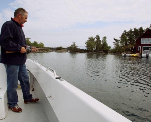 22 Fisker, hohe sichere Bordwand