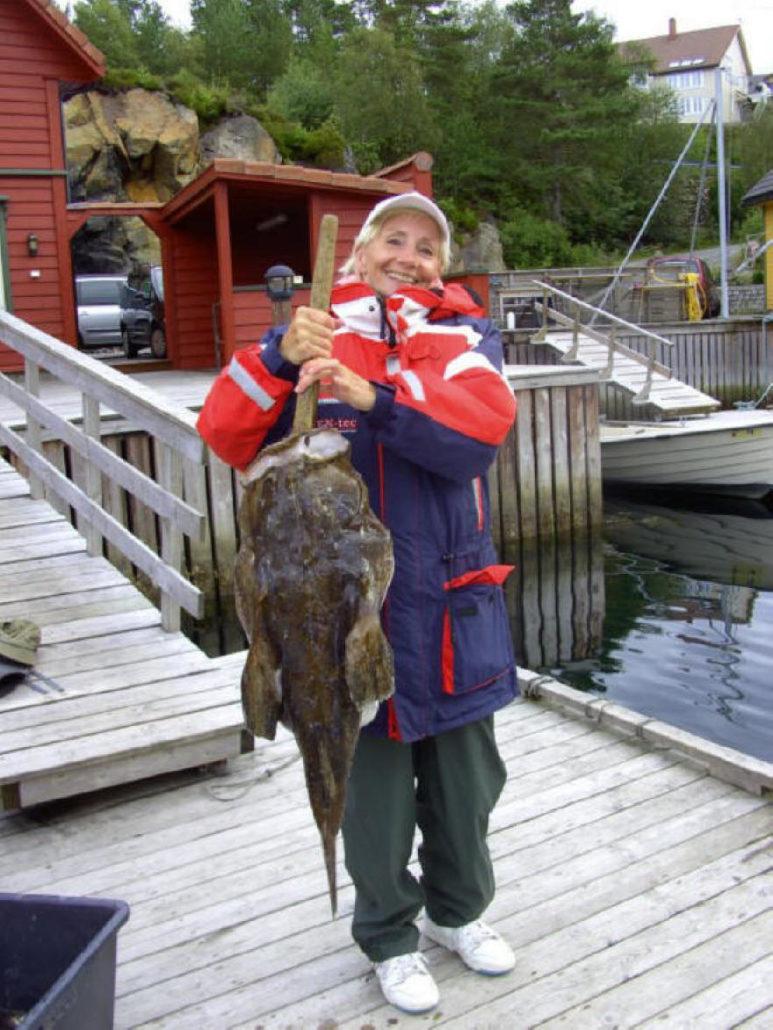 Dieser Fang ist nicht alltäglich - herzlichen Glückwunsch der stolzen Anglerin!
