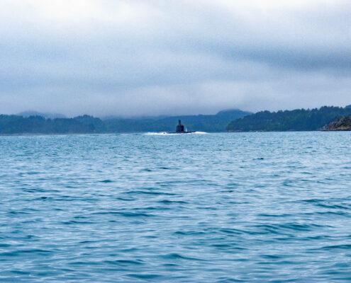 U-Boot voraus.