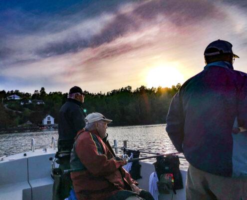 Erst mal Abends auf Platte angeln.