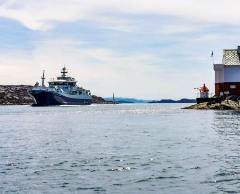 Fishtrawler im Stocksund.